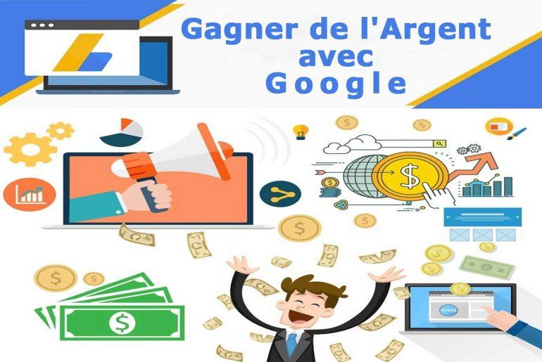 gagner de l'argent avec google