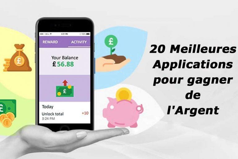 meilleures app pour gagner argent