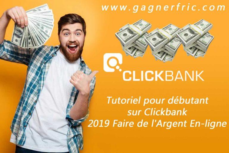Gagner de l'argent sur Clickbank