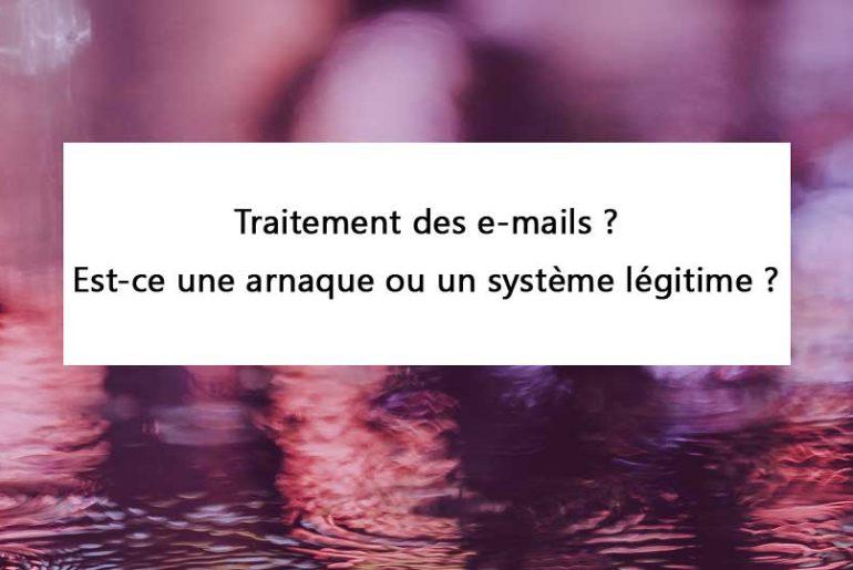 Traitement des emails