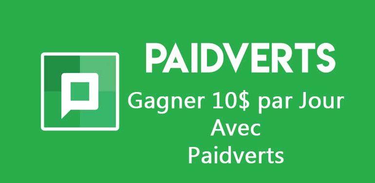paidverts gagner enligne