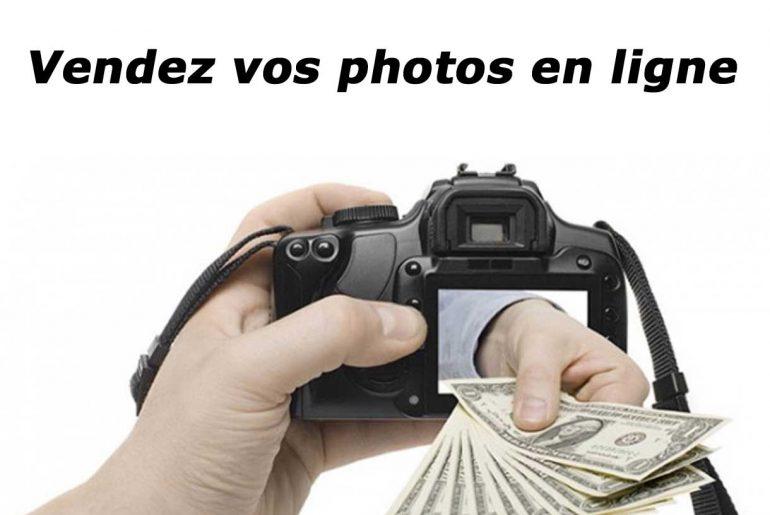 Vendez vos photos enligne